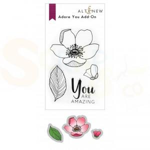 Altenew, stamp & die Adore You Add-on ALT6250