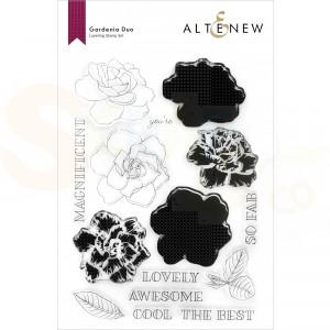 Altenew, clearstamp Gardenia Duo ALT6252