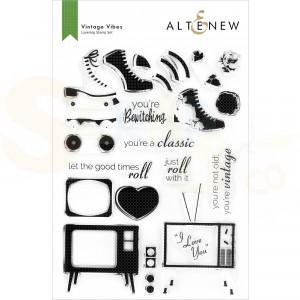 Altenew, clearstamp Vintage Vibes ALT6263
