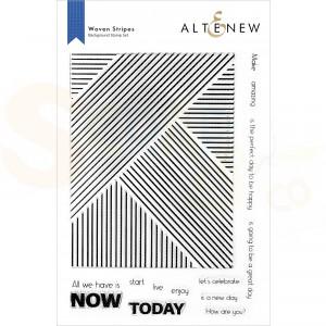 Altenew, clearstamp Woven Stripes ALT6324