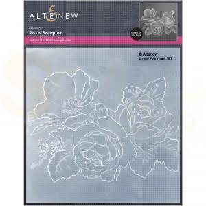 Altenew, embossingfolder Rose Bouquet ALT6330
