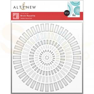 Altenew, stencil Brick Rosette Builder (2 in 1) ALT6366