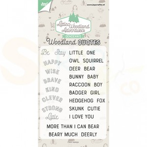 6410/0513, clearstamp DenDennis, LWA Woodland Quotes