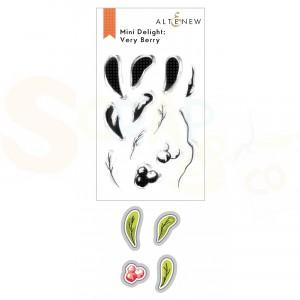 Altenew, stamp & die Very Berry ALT6412/6413