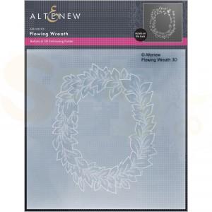 Altenew, embossingfolder Flowing Wreath, ALT6447