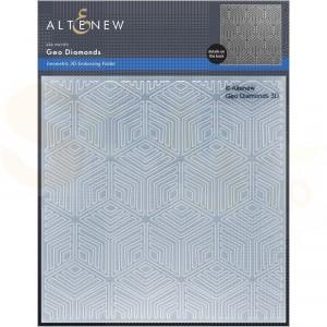 Altenew, embossingfolder Geo Diamonds ALT6448