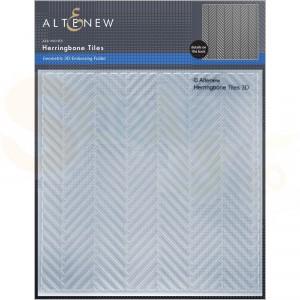 Altenew, embossingfolder Herringbone Tiles ALT6449