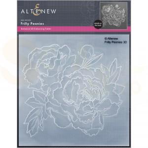 Altenew, embossingfolder Frilly Peonies ALT6453