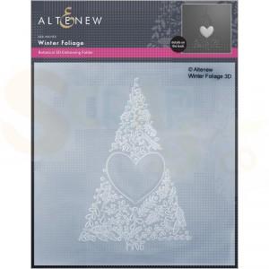 Altenew, embossingfolder Winter Foliage ALT6458