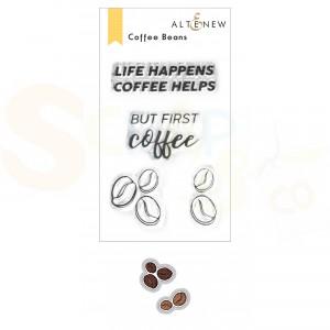 Altenew, stamp & die Coffee Beans ALT6469