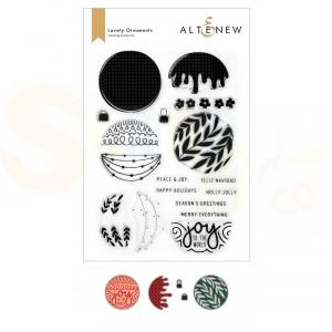 Altenew, stamp & die Lovely Ornaments ALT6510