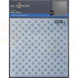 Altenew, embossingfolder Basic Plaid ALT6527