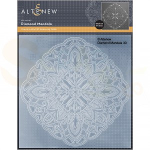 Altenew, embossingfolder Diamond Mandala ALT6528