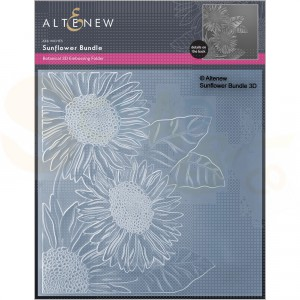 Altenew, embossingfolder Sunflower Bundle ALT6531