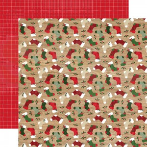 Echo Park Paper, Jingle all the Way JIN2527, By the Chimney