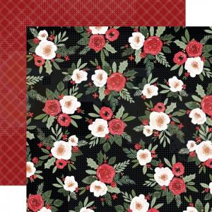 Carta Bella, Happy Christmas CBXM1402, Festive Floral