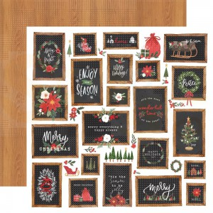 Carta Bella, Happy Christmas CBXM1405, Christmas Signs