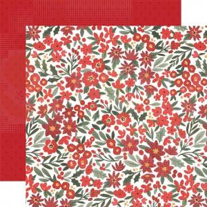 Carta Bella, Happy Christmas CBXM1407, Christmas Floral