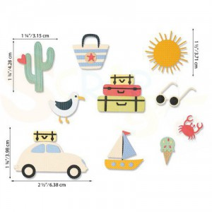 Sizzix Thinlits Die Set, Summer Days 664471