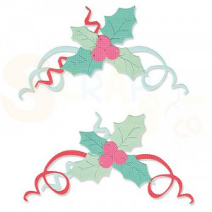Sizzix Thinlits Die Set, Boughs of Holly 664700