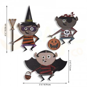 Sizzix Thinlits Die Set, Trick of Treater 664751