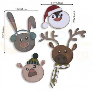 Sizzix Thinlits Die Set, Winter Critters 664752