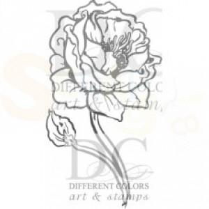 S-00507 Design flower poppy