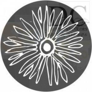 S-00591 Circle Sunleaf