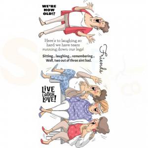 Art Impressions, Aics15 Live Laugh Love
