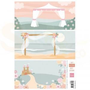 Marianne Design, knipvel Eline's Wedding background AK0083