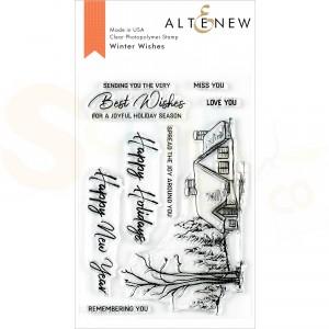 Altenew, clearstamp Winter Wishes ALT3556