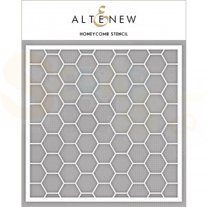 Altenew, Stencil, Honeycomb ALT3579