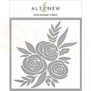 Altenew, Stencil, Rose Bouquet ALT3583