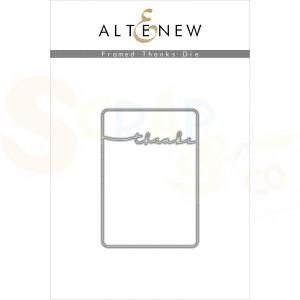 Altenew, die set, Frames Thanks ALT3785