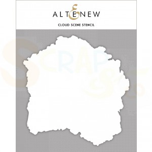 Altenew, Stencil, Cloud Scene ALT4235