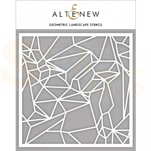 Altenew, Stencil, Geometric Landscape ALT4239