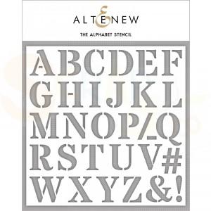 Altenew, Stencil, The Alphabet ALT4239