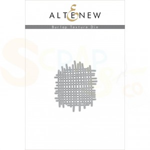 Altenew, die set, Burlap Texture ALT4397