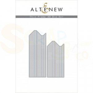 Altenew, die set, Thin Frame 3D ALT4407