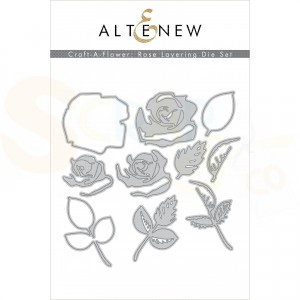 Altenew, craft-a-flower Rose ALT4509