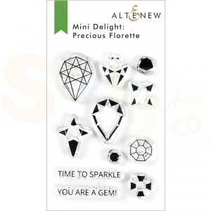 Altenew, mini delight stamp&die Precious Florette