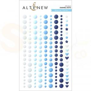 Altenew, enamal dots Glacier Caves ALT4782
