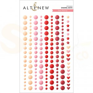 Altenew, enamal dots Tea Party ALT4784