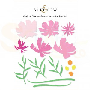 Altenew, craft-a-flower Cosmos ALT4821