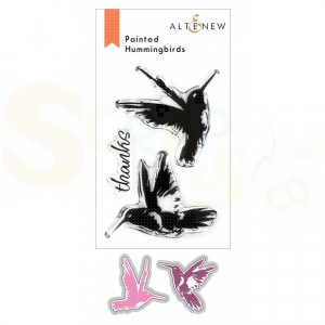 Altenew, stamp & die Painted Hummingbirds ALT4838