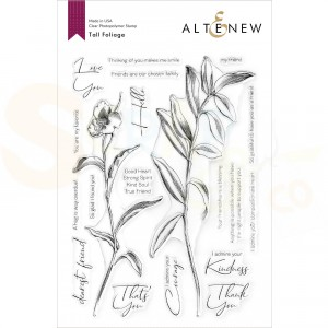 Altenew, clearstamp Tall Foliage ALT4850