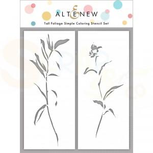 Altenew, Stencil Tall Foliage ALT4852