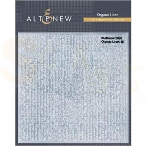 Altenew, embossingfolder Organic Linen ALT4856