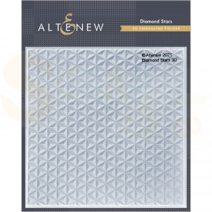 Altenew, embossingfolder Diamond Stars ALT4869