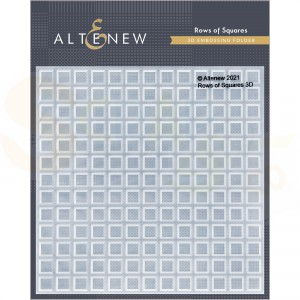 Altenew, embossingfolder Rows of Square ALT4873